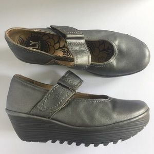 Fly London Mary Janes wedges shoes